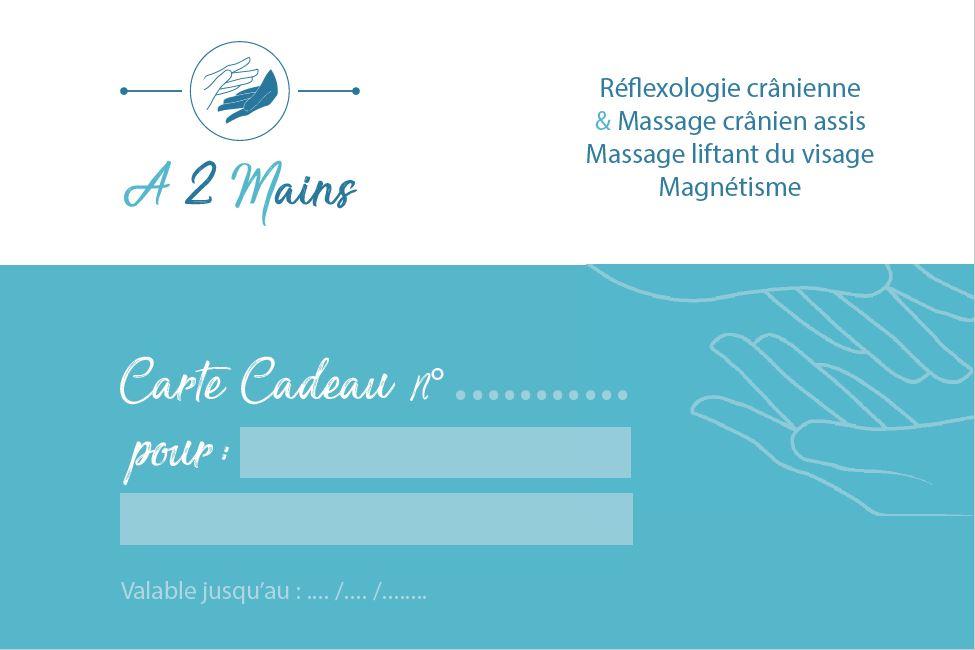 Carte cadeau reflexologie et massage cranien ou liftant a montauban 82