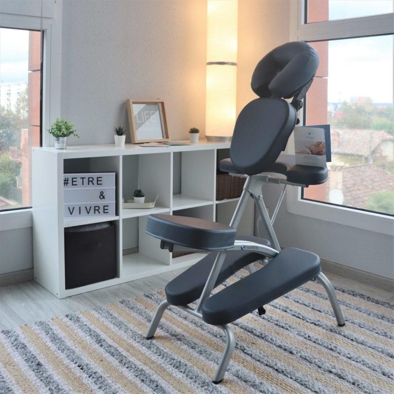 Chaise ergonomique massage assis Cabinet A 2 Mains Montauban